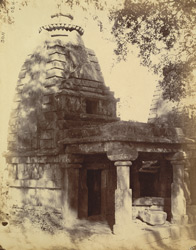General view of a small temple opposite the Kapileshvara Temple, Balod, Raipur District